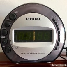 Radios antiguas: RADIO DESPERTADOR AIWA MODELO FR-A 220EZ. Lote 116346907