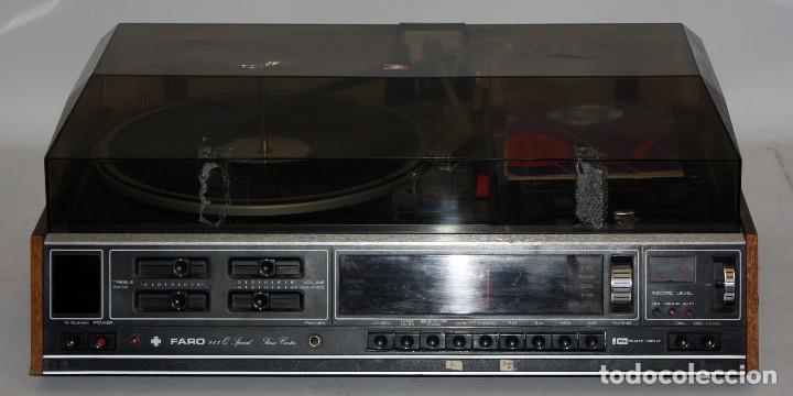 Radios antiguas: TOCADISCOS MARCA FARO Q SPECIAL. DE LOS AÑOS 80 - Foto 2 - 116692239