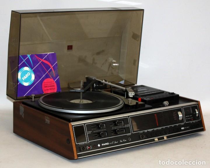 Radios antiguas: TOCADISCOS MARCA FARO Q SPECIAL. DE LOS AÑOS 80 - Foto 3 - 116692239