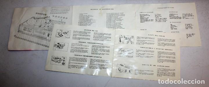 Radios antiguas: TOCADISCOS MARCA FARO Q SPECIAL. DE LOS AÑOS 80 - Foto 20 - 116692239
