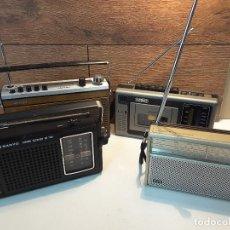 Radios antiguas: LOTE DE RADIOS, TRANSISTORES PORTÁTILES. SANYO, ITT, NORMENDE. AÑOS 70/80. Lote 116699047