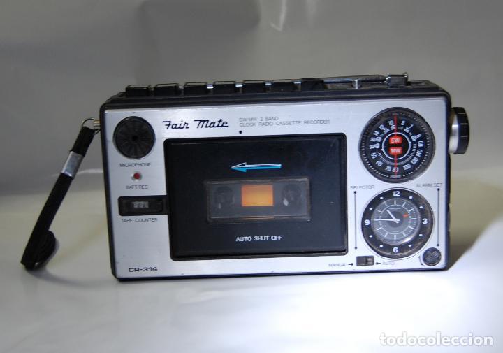 RADIO CASETTE FAIR MATE CR 314 (Radios, Gramófonos, Grabadoras y Otros - Transistores, Pick-ups y Otros)