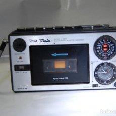 Radios antiguas: RADIO CASETTE FAIR MATE CR 314. Lote 116732635