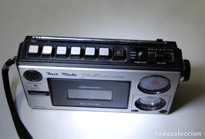 Radios antiguas: RADIO CASETTE FAIR MATE CR 314 - Foto 2 - 116732635