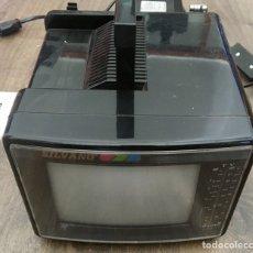 Radios antiguas: SUPER MINI RECEPTOR TELEVISIÓN COLOR, RADIO SILVANO. Lote 116760616