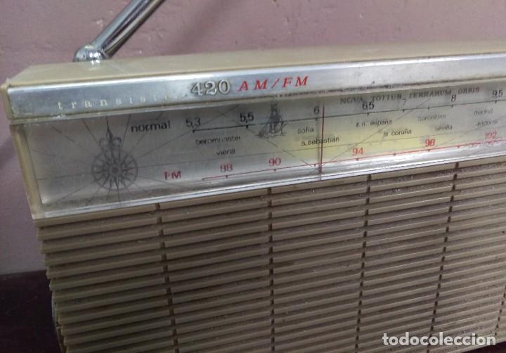 TRANSISTOR LAVIS 420 AM/FM FUNCIONA (Radios, Gramófonos, Grabadoras y Otros - Transistores, Pick-ups y Otros)
