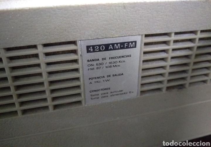 Radios antiguas: Transistor Lavis 420 AM/FM funciona - Foto 8 - 117033783