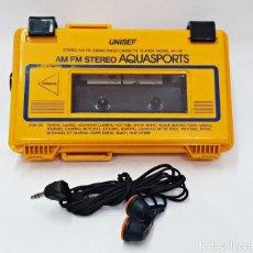 Radios antiguas: WALKMAN RADIO CASSETTE PLAYER UNISEF AF-46 AM/FM AQUASPORTS. Lote 117067339