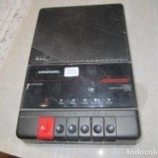 Radios antiguas: CASSETTE GRUNDIG, FUNCIONANDO. 17 X 26 X 6 CMS. ALTURA.. Lote 117069163