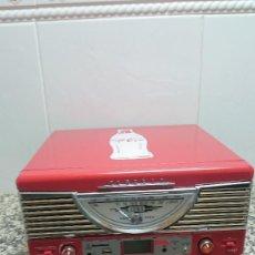 Radios antiguas: TOCADISCOS, RADIO Y USB. COCA COLA. . Lote 147449476