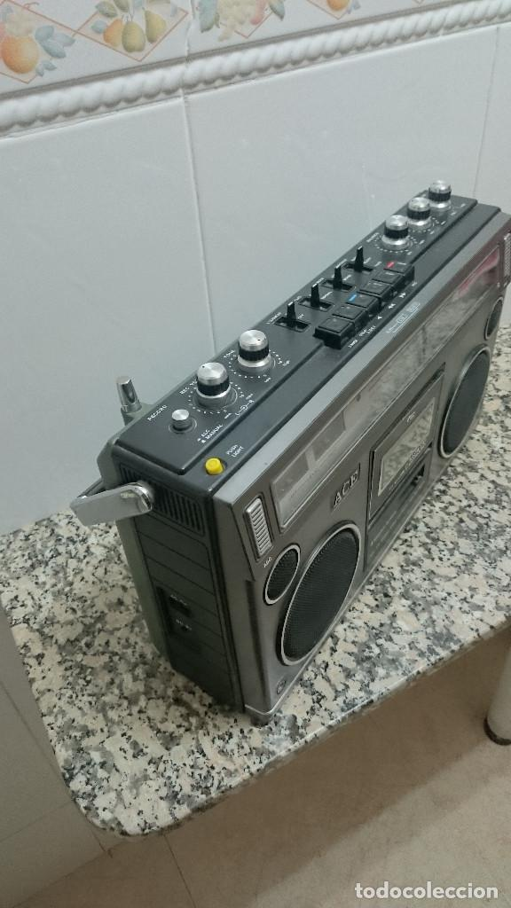 Radios antiguas: RADIO CASSETTE MARCA ACE - Foto 2 - 164284360
