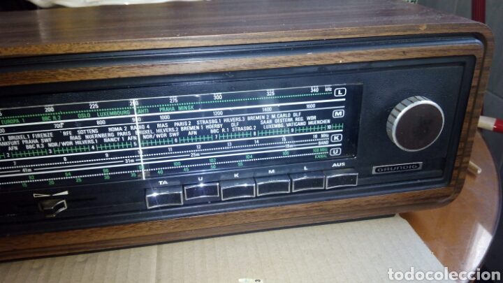 Radios antiguas: Radio,GRUNDIG,RF611, Funcionando - Foto 3 - 117225602