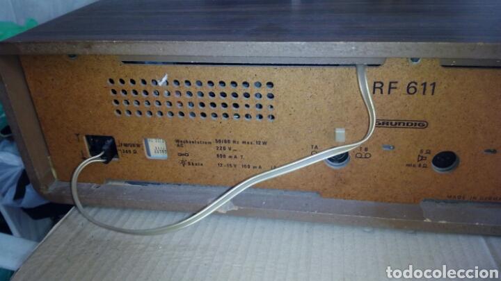Radios antiguas: Radio,GRUNDIG,RF611, Funcionando - Foto 13 - 117225602