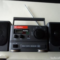 Radios antiguas: MINI RADIO COMPO PORTATIL FM/AM - SUNNY JAPAN (FUNCIONA A PILAS). Lote 117413047