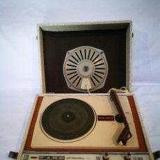 Radios antiguas: TOCADISCOS PORTATIL FARO 330 ALL TRANSISTORS. Lote 117854519
