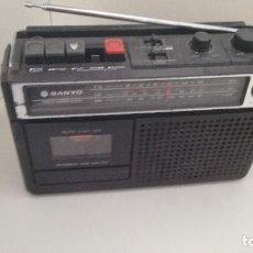 Radios antiguas: RADIOCASSETT SANYO M2404N. Lote 117895343