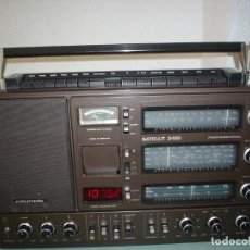 Radios antiguas: RADIO MULTIBANDAS GRUNDIG SATELLIT 3400. Lote 117953427