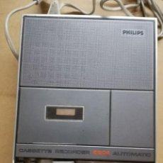 Radios antiguas: GRABADORA CASSETTE PHILIPS N-2204. Lote 118000899