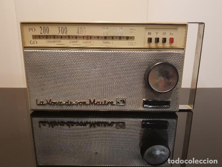 TRANSISTOR LA VOZ DE SU AMO (Radios, Gramófonos, Grabadoras y Otros - Transistores, Pick-ups y Otros)