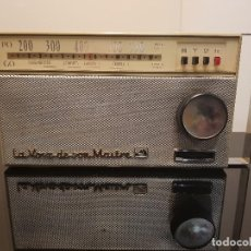 Radios antiguas: TRANSISTOR LA VOZ DE SU AMO. Lote 118102287
