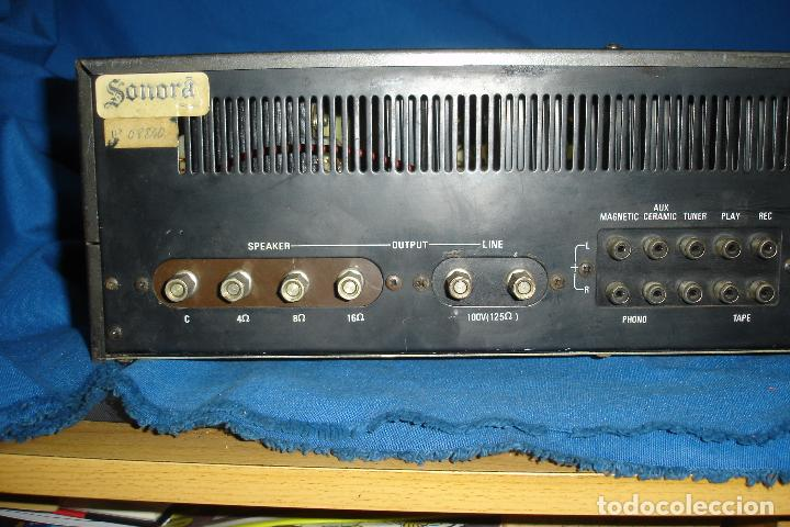 Radios antiguas: AMPLIFICADOR GOLD KING MDLO. K A 83 - REVISADO Y FUNCIONA - Foto 2 - 118190135