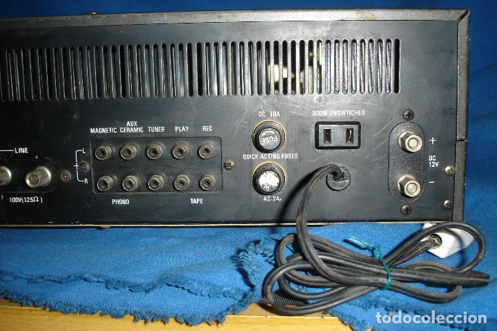 Radios antiguas: AMPLIFICADOR GOLD KING MDLO. K A 83 - REVISADO Y FUNCIONA - Foto 3 - 118190135