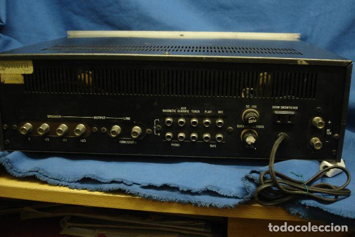 Radios antiguas: AMPLIFICADOR GOLD KING MDLO. K A 83 - REVISADO Y FUNCIONA - Foto 4 - 118190135