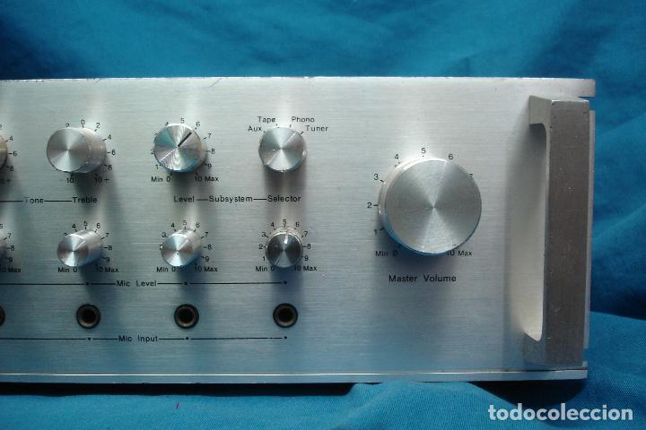 Radios antiguas: AMPLIFICADOR GOLD KING MDLO. K A 83 - REVISADO Y FUNCIONA - Foto 8 - 118190135