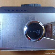 Radios antiguas: SANYO TALK BOOK - COMPACT CASSETTE RECORDER - FUNCIONA. Lote 118606815