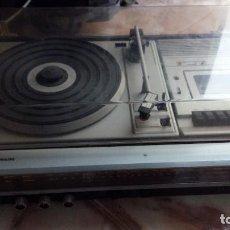 Radios antiguas: PHILIPS EQUIPO DE MUSICA (972) ESTEREO HIFI COMPACT RADIO CASSETTE TOCADISCOS AÑOS 70. Lote 118631607