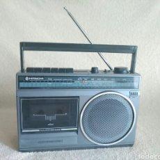 Radios antiguas: RADIO CASSETTE HITACHI TRK-510E. Lote 118855432