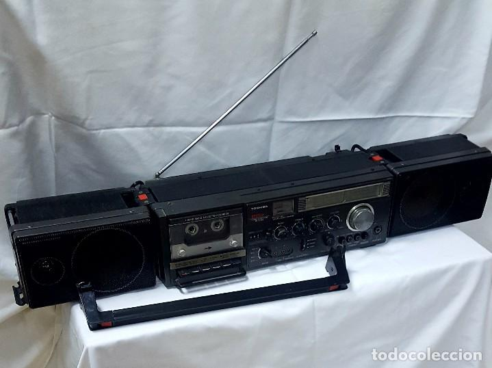 Radios antiguas: radio casete Thosiba system - Foto 3 - 118858287