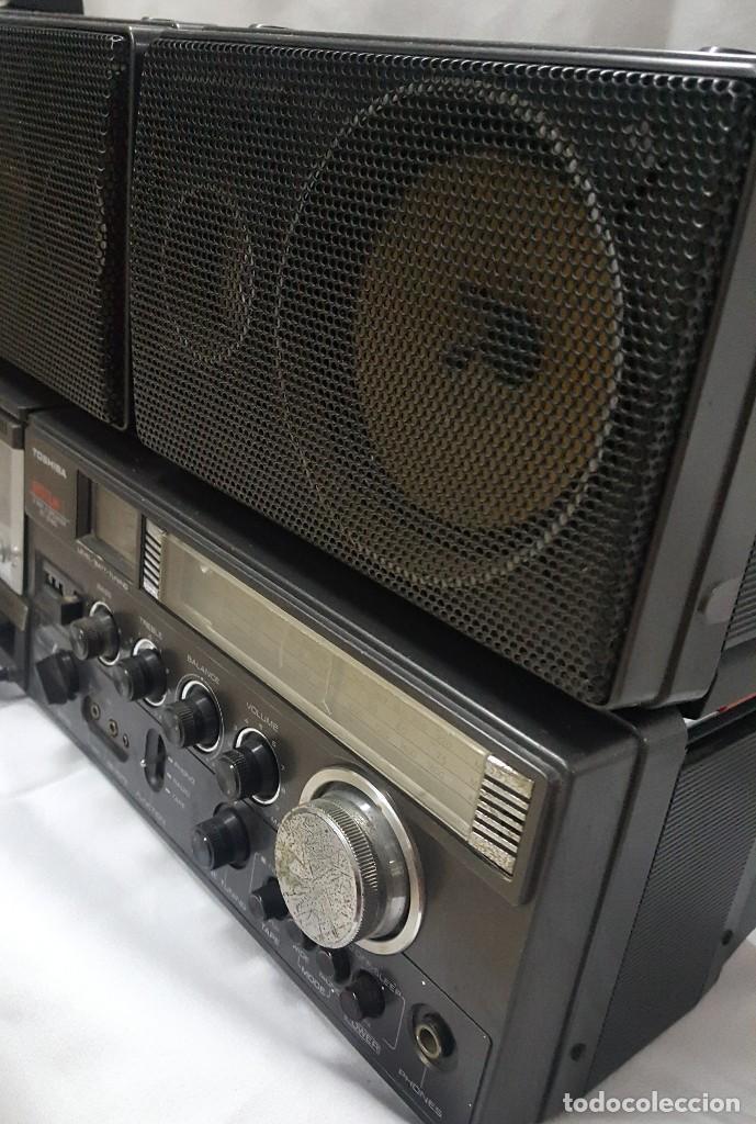 Radios antiguas: radio casete Thosiba system - Foto 5 - 118858287