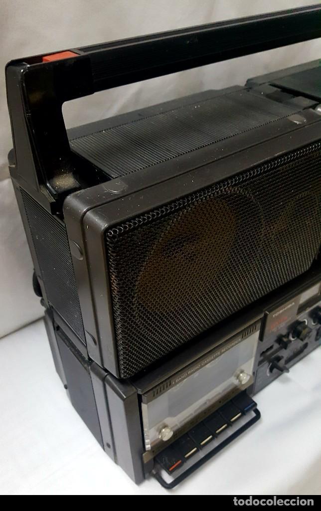 Radios antiguas: radio casete Thosiba system - Foto 9 - 118858287