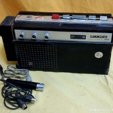 Radios antiguas: RADIO CASETE FARO. Lote 126591131