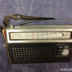 Radios antiguas: RADIO TRANSISTOR LORO VINTAGE PORTATIL CON FUNDA VINTAGE AM -FM 1990. Lote 119061607