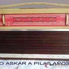 Radios antiguas: RADIO ASKAR(IRÚN )AÑO 1958,IDEAL COLECCIONISTAS VER FOTOS ADJUNTAS . Lote 119063667
