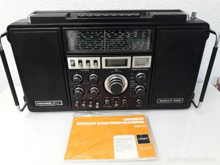 RADIO GRUNDIG SATELLIT 2400 (Radios, Gramófonos, Grabadoras y Otros - Transistores, Pick-ups y Otros)
