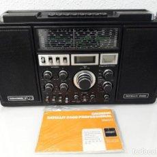 Radios antiguas: RADIO GRUNDIG SATELLIT 2400. Lote 119080247