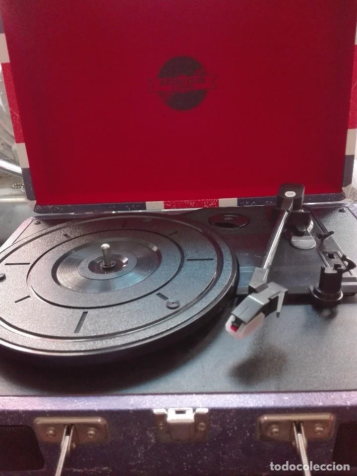 Radios antiguas: Radio cassette de los años 60 - Foto 3 - 119173127