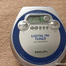 Radio antiche: DISCMAN PHILIPS DIGITAL FM TUNER DISC MAN KREATEN. Lote 245479795