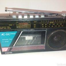 Radios antiguas: RADIO CASSETTE INTERNACIONAL. Lote 119521272
