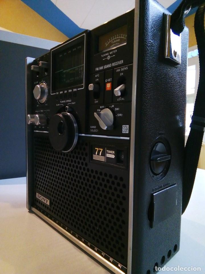Radios antiguas: SONY ICF-5800L - Foto 2 - 112475219