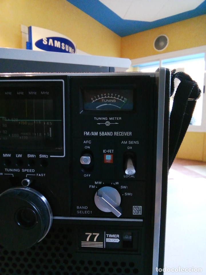 Radios antiguas: SONY ICF-5800L - Foto 5 - 112475219