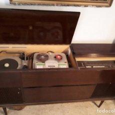 Radios antiguas: MUEBLE RADIO, MAGNETOFÓN Y TOCADISCOS GRUNDING. Lote 120670211