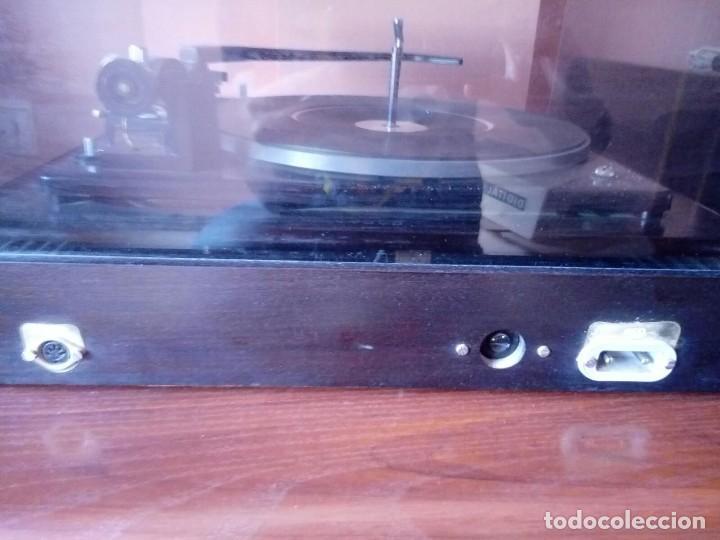 Radios antiguas: Tocadiscos de madera . Inter modelo 338. Año 1969 - Foto 3 - 120833191