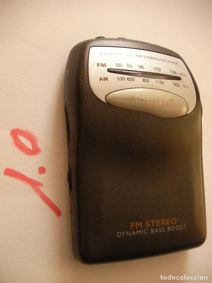 RADIO TRANSISTOR PHILIPS (Radios, Gramófonos, Grabadoras y Otros - Transistores, Pick-ups y Otros)