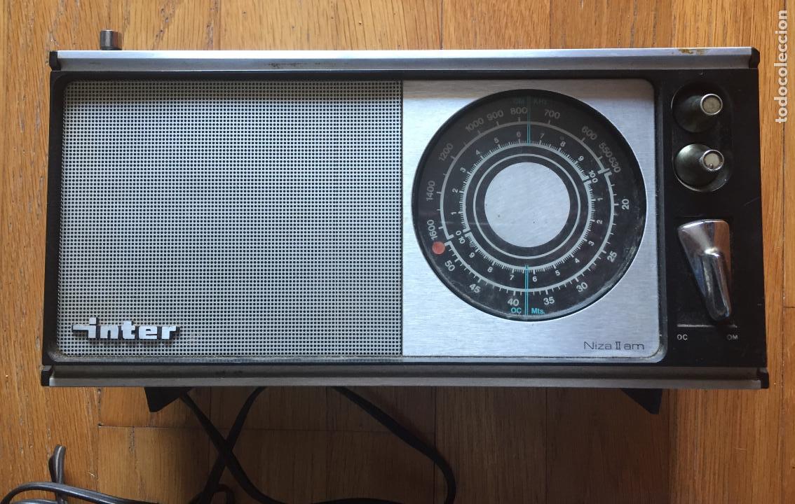 RADIO INTER NIZA II, VINTAGE AÑOS 70 LEER (Radios, Gramófonos, Grabadoras y Otros - Transistores, Pick-ups y Otros)