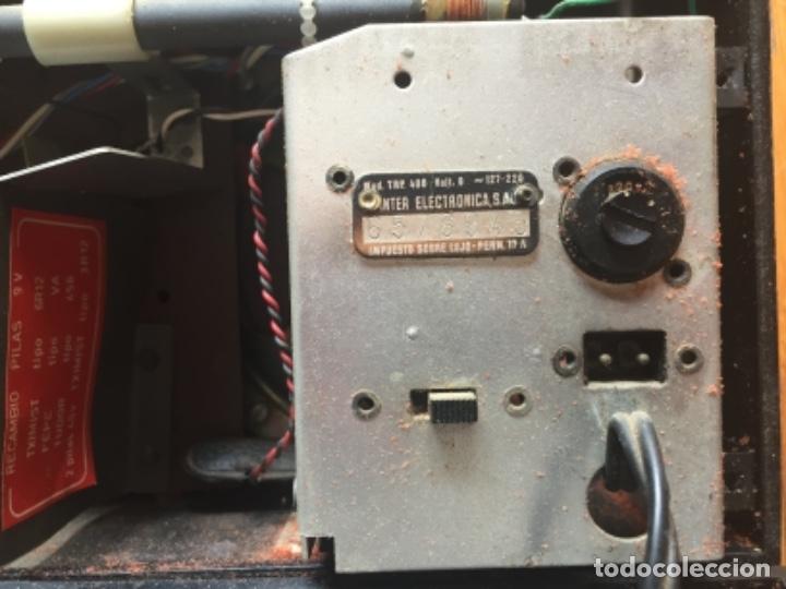 Radios antiguas: RADIO INTER NIZA II, VINTAGE AÑOS 70 LEER - Foto 18 - 120912335