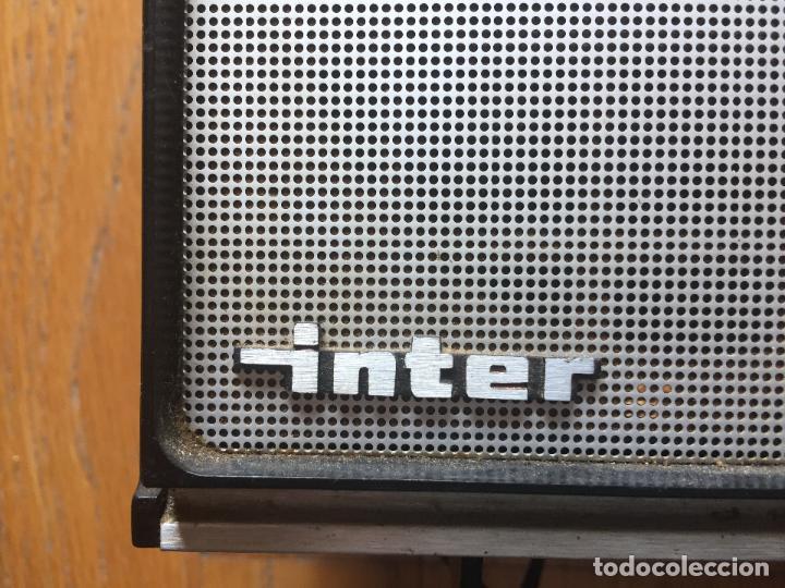 Radios antiguas: RADIO INTER NIZA II, VINTAGE AÑOS 70 LEER - Foto 8 - 120912335